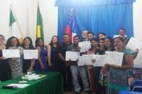 Certificação dos Cursos do ProFuncionário: Alimentação Escolar, Infraestrutura Escolar e Secretaria Escolar