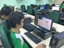 Curso Técnico em Redes de Computadores EAD realiza oficina prática no IFAM campus Parintins.