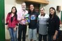 Pró-reitor Antônio Neto e Coordenadora Pedagógica dos Cursos de Nível Médio Técnico, Rosangela Santos, visitam o campus Tefé.
